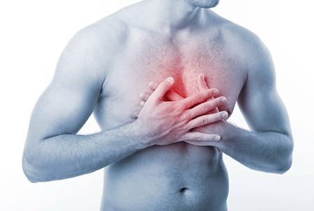 Тошнота и боль в области сердца