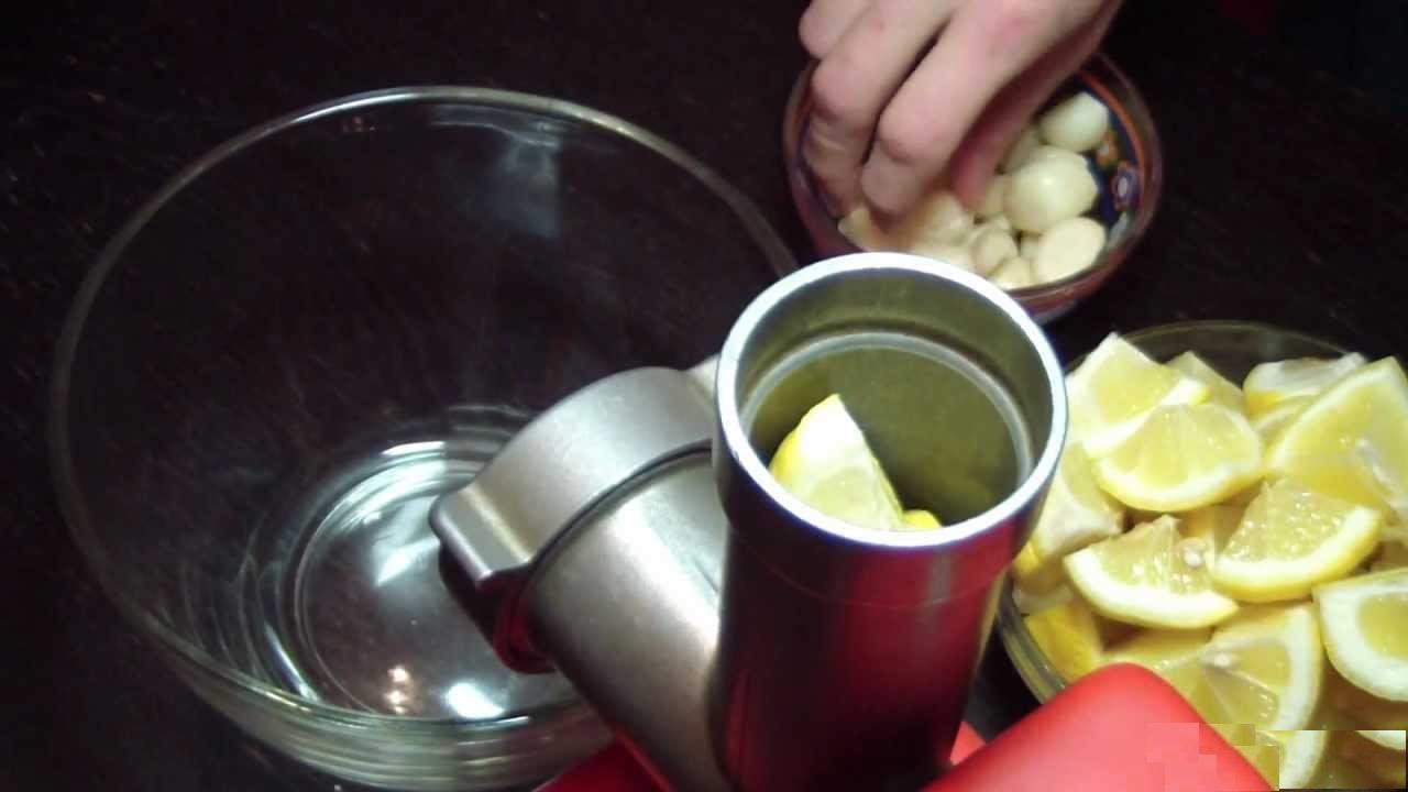 Чистка сосудов в домашних условиях лимоном чесноком