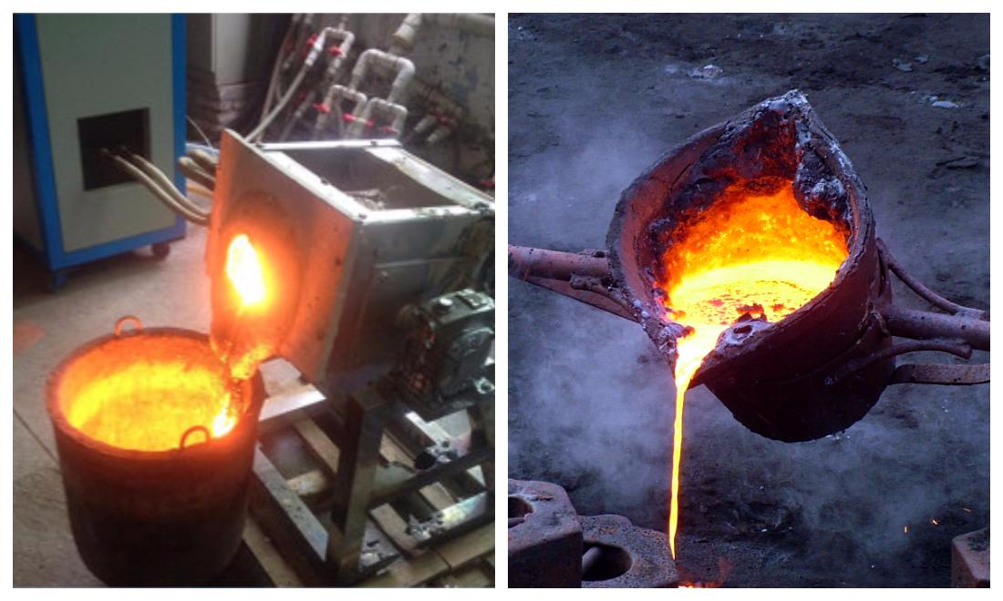 Как в домашних условиях плавить металл в 405