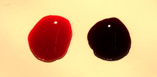 алый цвет крови фото